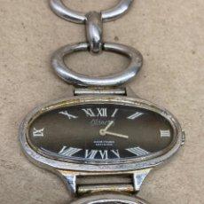 Relojes de pulsera: RELOJ MANCRIS DE PLATA CARGA MANUAL. Lote 243859300