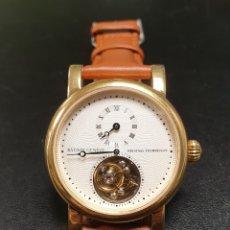 Relojes de pulsera: RELOJ BATISTE GENEVE ORIGINAL TOURBILLON. Lote 243914650