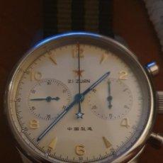 Relojes de pulsera: CRONO SEA GULL VENUS 175 NUEVO CAJA Y PAPELES. Lote 243930675