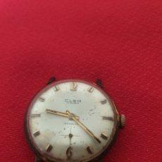 Relojes de pulsera: ANTIGUO RELOJ DE CUERDA CLER 17 RUBIS. Lote 244019555