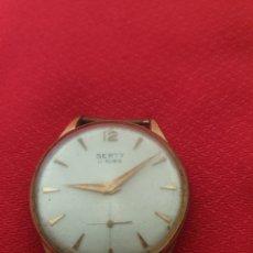 Relojes de pulsera: ANTIGUO RELOJ DE CUERDA SERTY 17 RUBIS. Lote 244019865