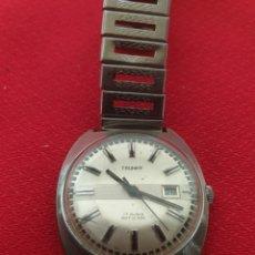 Relojes de pulsera: ANTIGUO RELOJ DE CUERDA TRUMPH 17 RUBIS ANTICHOC. Lote 244021675