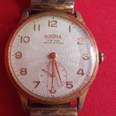 Relojes de pulsera: RELOJ DOGMA PRIMA ANCRE 15 RUBIS FUNCIONA. MIDE 39 MM DIAMETRO. Lote 244184290