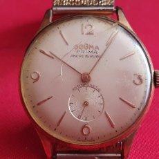 Relojes de pulsera: RELOJ DOGMA PRIMA ANCRE 15 RUBIS NO FUNCIONA.MIDE 34 MM DIAMETRO. Lote 244185095
