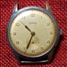 Relojes de pulsera: NARVA - RELOJ DE PULSERA CARGA MANUAL - 15 JEWELS - MADE IN SWISS - NO FUNCIONA. Lote 244572910