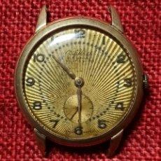 Relojes de pulsera: CRISTAL WATCH - LE LOCLE - ANCRE 15 RUBIS - NO FUNCIONA - MADE IN SWISS -. Lote 244573940