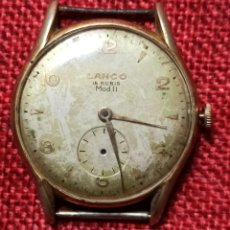 Relojes de pulsera: LANCO - MOD. II ANCRE 15 RUBIS - NO FUNCIONA - MADE IN SWISS - FONO ACIER -. Lote 244574905