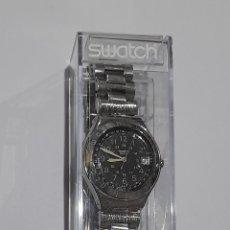 Relojes de pulsera: RELOJ SWATCH CAJA ACERRO 38MM. FUNCIONANDO . VER FOTOS.. Lote 244745280
