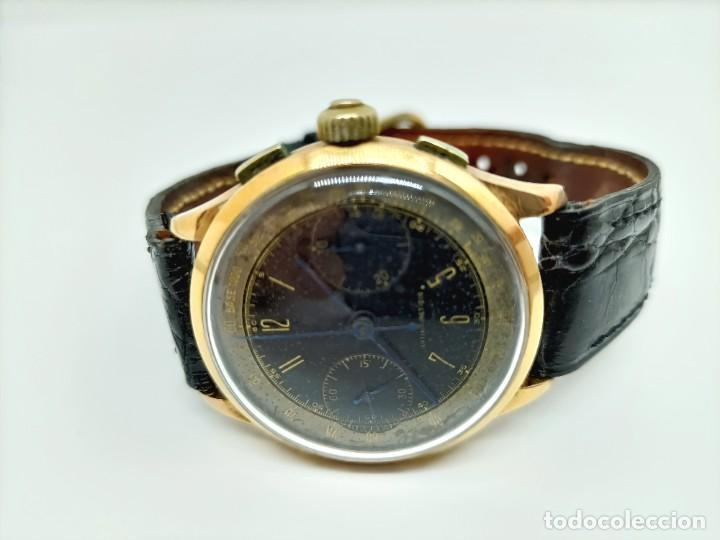 Relojes de pulsera: Reloj cronografo antiguo - Foto 3 - 245248745