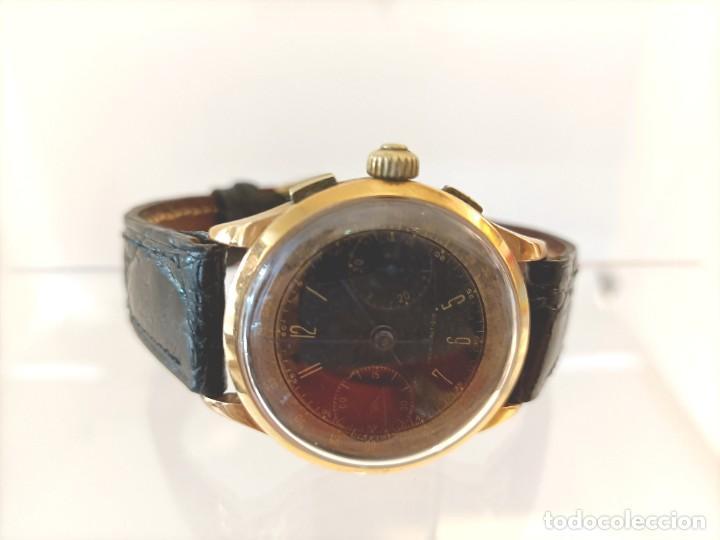 Relojes de pulsera: Reloj cronografo antiguo - Foto 4 - 245248745