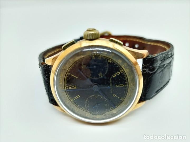 Relojes de pulsera: Reloj cronografo antiguo - Foto 5 - 245248745