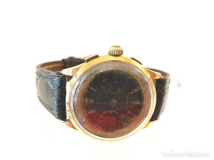 Relojes de pulsera: Reloj cronografo antiguo - Foto 10 - 245248745