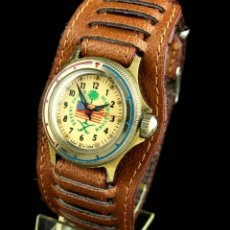 Relojes de pulsera: RELOJ VOSTOK DESERT SHIELD JUNIOR VOSTOK ESCUDO DEL DESIERTO AÑO:1992 VOSTOK TORMENTA DEL DESIERTO. Lote 276535063