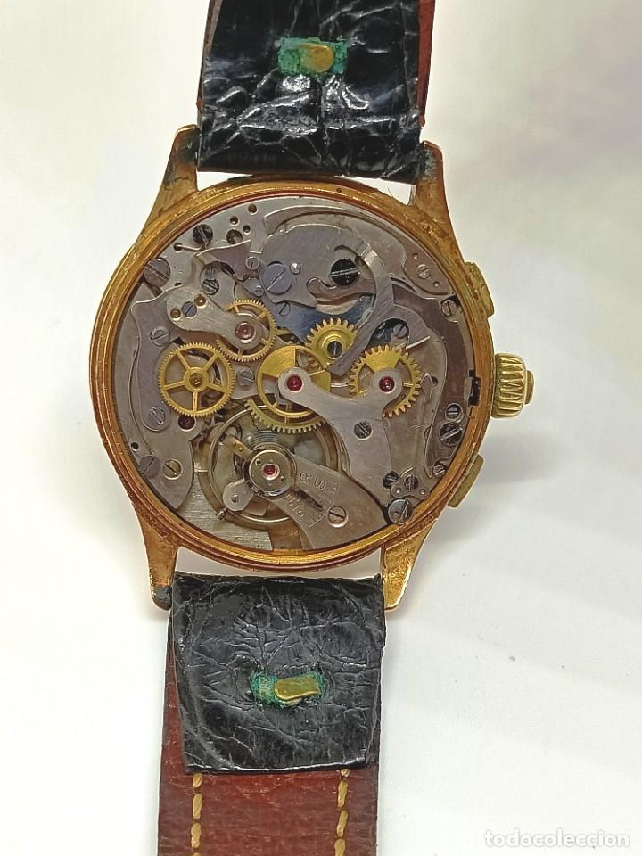 Relojes de pulsera: Reloj cronografo antiguo - Foto 11 - 245248745