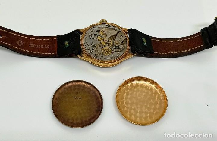 Relojes de pulsera: Reloj cronografo antiguo - Foto 12 - 245248745