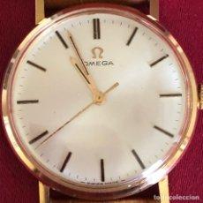 Relojes de pulsera: PRECIOSO OMEGA ORO 18 KLT 750 DE CARGA MANUAL. Lote 246252530