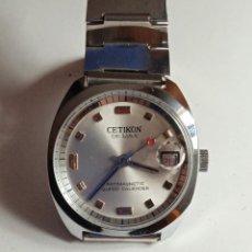 Relojes de pulsera: RELOJ CETICON DE LUXE CALENDARIO.. Lote 246328650