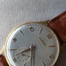 Relojes de pulsera: RELOJ MECANICO DOGMA AÑOS 60. Lote 246522160