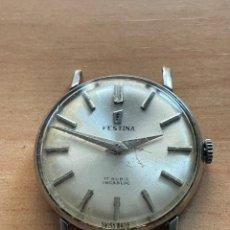 Relojes de pulsera: FESTINA 1090, 17 RUBÍS, INCABLOC, 30MM, FUNCIONA. Lote 246927730
