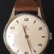 Relógios de pulso: RELOJ DE CUERDA MARCA CYMA REFERENCIA 371 EN BUEN ESTADO DE CONSERVACIÓN AÑOS 50. Lote 247337705