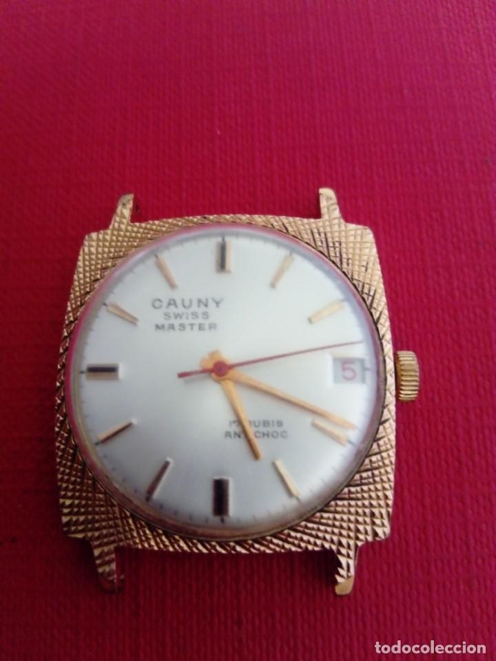 RELOJ CAUNY PRIMA MASTER (Relojes - Pulsera Carga Manual)
