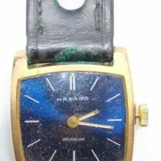 Relojes de pulsera: RELOJ MUJER MASAGO INCABLOC SWISS. Lote 248350795