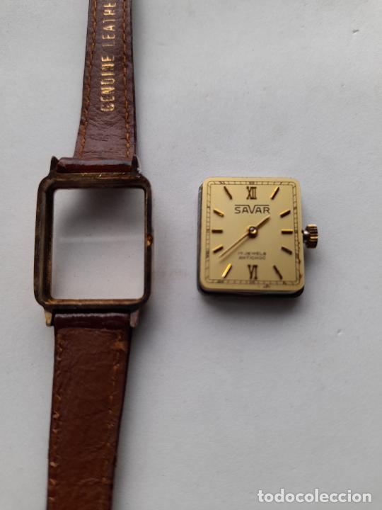 Relojes de pulsera: Reloj Marca Savar. Clásico de dama. Funcionando. - Foto 5 - 249040525