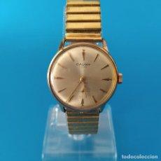 Relógios de pulso: RELOJ CAUNY DE LUXE PARA REPARAR VOLANTE MALO PERO BUEN ASPECTO EN GENERAL.. Lote 249475620