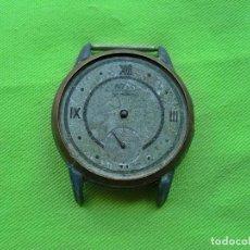 Relojes de pulsera: ANTIGUOS RESTOS DE RELOJ FULTON ANCRE 15 RUBIS MADE SWISS. Lote 251278820