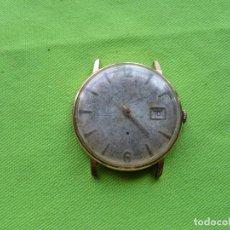 Relojes de pulsera: ANTIGUOS RESTOS DE RELOJ DUWARD 763, 15 RUBIS MADE SWISS.. Lote 251279435