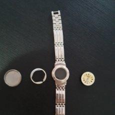 Relojes de pulsera: CAJA DE PLATA 925 CON PULSERA PARA RELOJ .. Lote 252051255