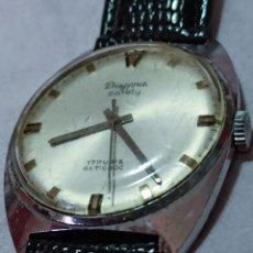 Relojes de pulsera: RELOJ DUGENA SAFETY CALIBRE 380 17 RUBIS DE CUERDA FUNCIONA BIEN. Lote 252096285
