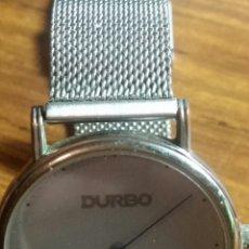 Relojes de pulsera: RELOJ DE PULSERA PUBLICIDAD MARCA DURBO GRUPO MARIE CLAIRE AÑOS 90. Lote 252711340