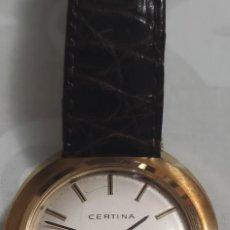 Relojes de pulsera: PRECIOSO RELOJ CERTINA DE CUERDA. CORREA PIEL COCODRILO.. Lote 253337755