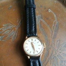 Relojes de pulsera: MOVADO DAMA CON CORREA Y HEBILLA ORIGINAL OMEGA. Lote 253618625