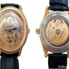 Relojes de pulsera: RELOJ SUIZO BULOVA SKELETON REF. 11987. Lote 253702665