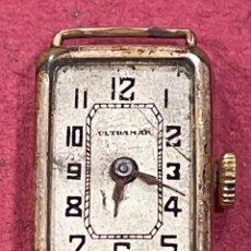 Relojes de pulsera: ANTIGUO RELOJ DE SEÑORA ART DECO, ULTRAMAR.. Lote 253807780