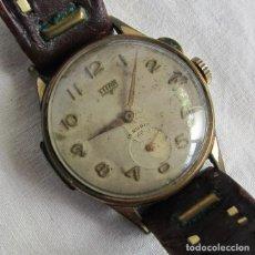 Relojes de pulsera: RELOJ DE CUERDA TITAN, ESFERA CON BISAGRA, FUNCIONANDO. Lote 254058475
