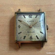 Relojes de pulsera: DUWARD DIPLOMÁTIC 15 JEWELS PLAQUE OR 10G 26MM FUNCIONA. Lote 254125405