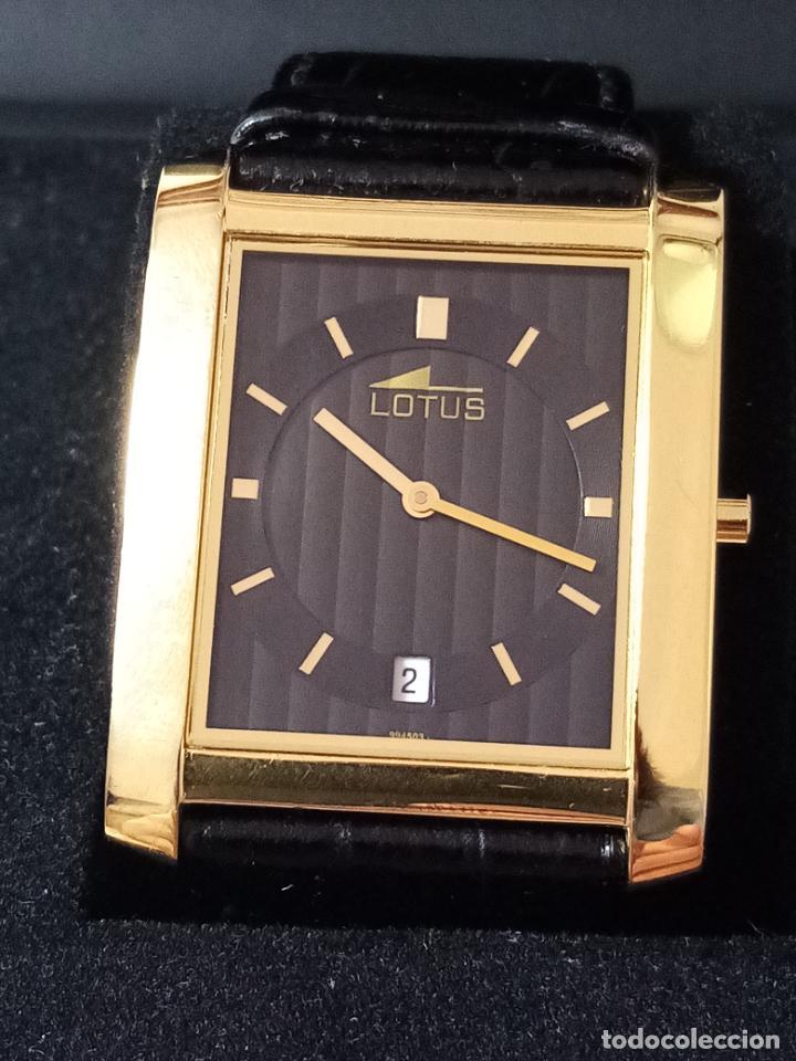 Relojes de pulsera: RELOJ DE PULSERA LOTUS CON CALENDARIO PARA HOMBRE - Foto 2 - 254167245