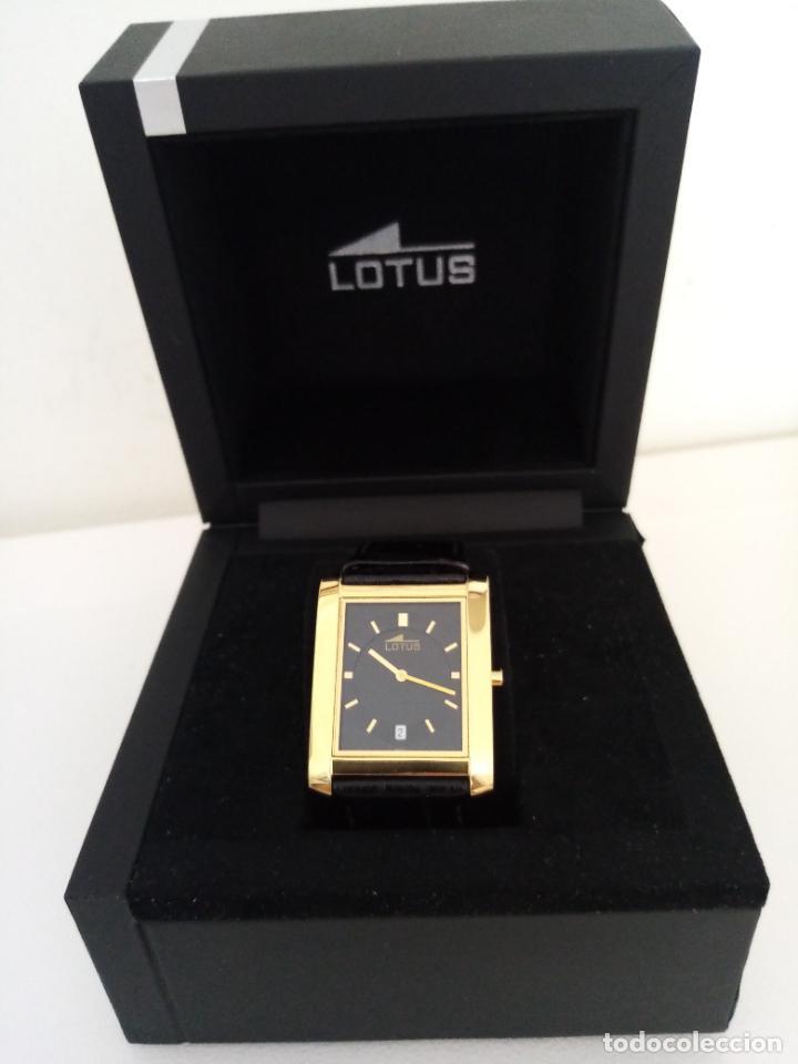 Relojes de pulsera: RELOJ DE PULSERA LOTUS CON CALENDARIO PARA HOMBRE - Foto 3 - 254167245