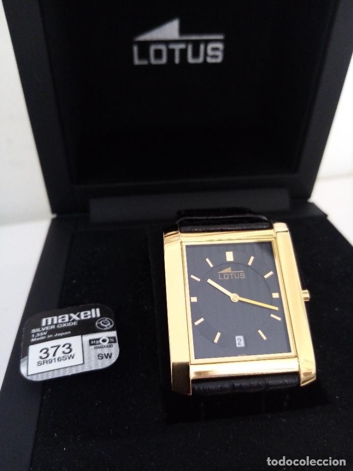 Relojes de pulsera: RELOJ DE PULSERA LOTUS CON CALENDARIO PARA HOMBRE - Foto 4 - 254167245