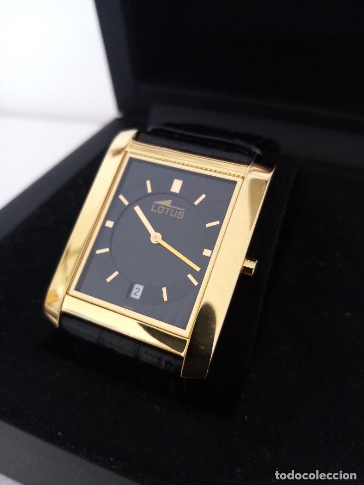 Relojes de pulsera: RELOJ DE PULSERA LOTUS CON CALENDARIO PARA HOMBRE - Foto 5 - 254167245