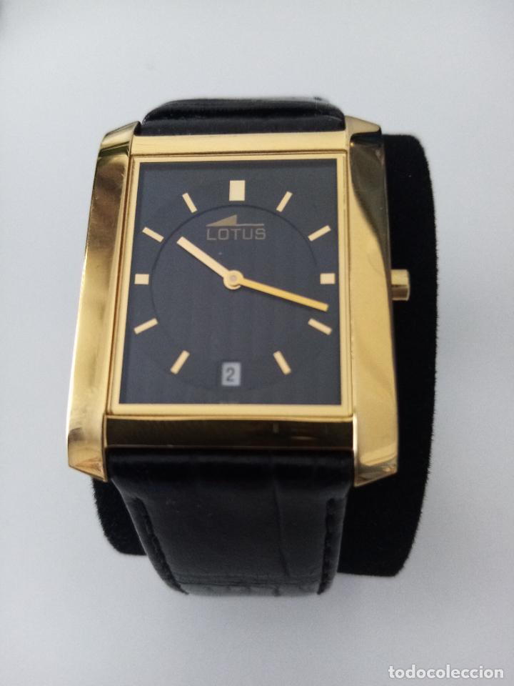 Relojes de pulsera: RELOJ DE PULSERA LOTUS CON CALENDARIO PARA HOMBRE - Foto 6 - 254167245