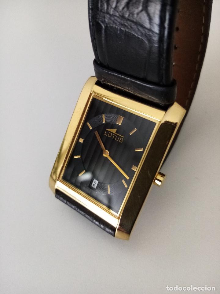 Relojes de pulsera: RELOJ DE PULSERA LOTUS CON CALENDARIO PARA HOMBRE - Foto 7 - 254167245