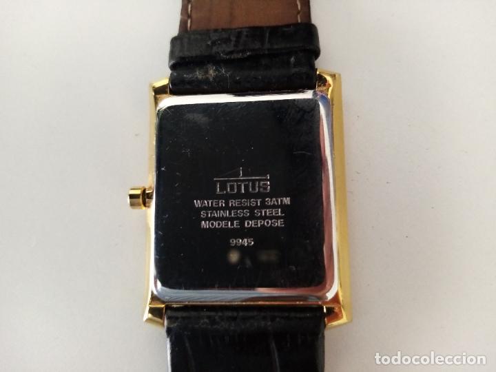 Relojes de pulsera: RELOJ DE PULSERA LOTUS CON CALENDARIO PARA HOMBRE - Foto 9 - 254167245