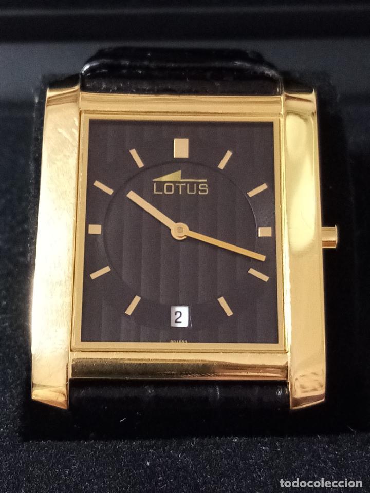 RELOJ DE PULSERA LOTUS CON CALENDARIO PARA HOMBRE (Relojes - Pulsera Carga Manual)