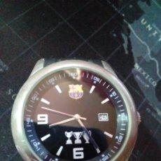 Relojes de pulsera: RELOJ FCBARCELONA CON CALENDARIO. Lote 254216955