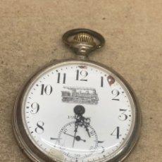 Relojes de pulsera: RELOJ DE BOLSILLO PATENT CARGA MANUAL. Lote 254338845