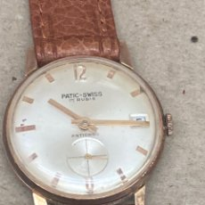 Relojes de pulsera: RELOJ PATIC SWISS CARGA MANUAL. Lote 254343520
